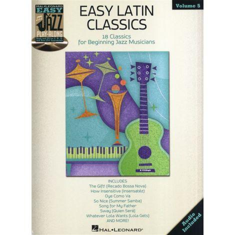 Easy Jazz Play-Along Volume 5: Easy Latin Classics