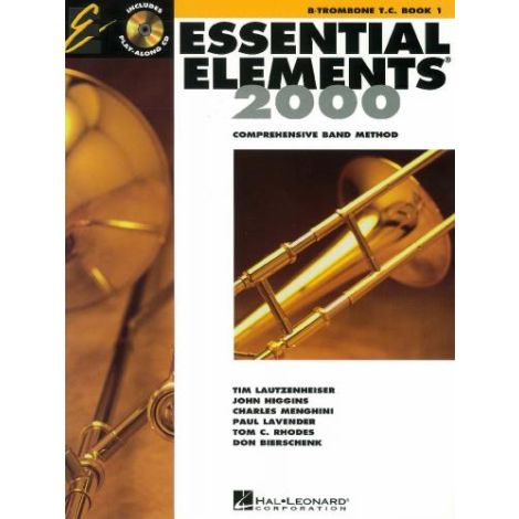 Essential Elements 2000 - Comprehensive Band Method - Bb Trombone TC Book 1