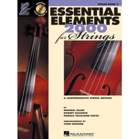 Essential Elements 2000 for Strings (Violin Book 2) + CD