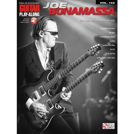 Guitar Play-Along Volume 152: Joe Bonamassa (Book/Online Audio)