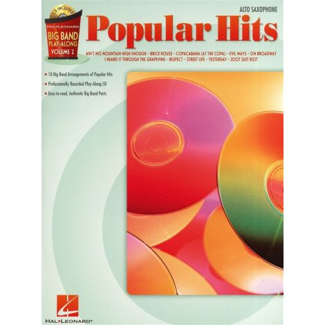 Big Band Play-Along Volume 2: Popular Hits - Alto Sax