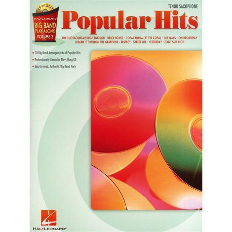 Big Band Play-Along Volume 2: Popular Hits - Tenor Sax
