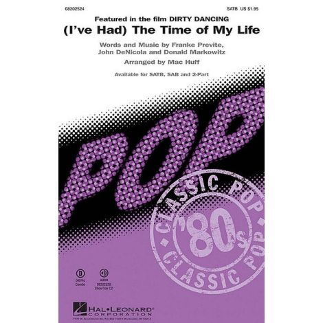 (I've Had) The Time of My Life (from Dirty Dancing) - SAB