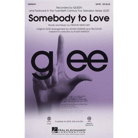 Queen: Somebody To Love (Glee) - SATB