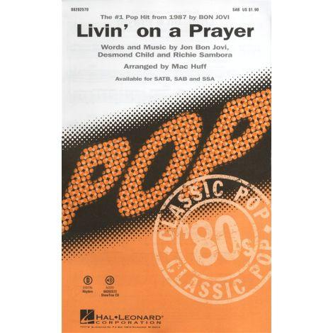 Bon Jovi: Livin' On A Prayer (SAB)