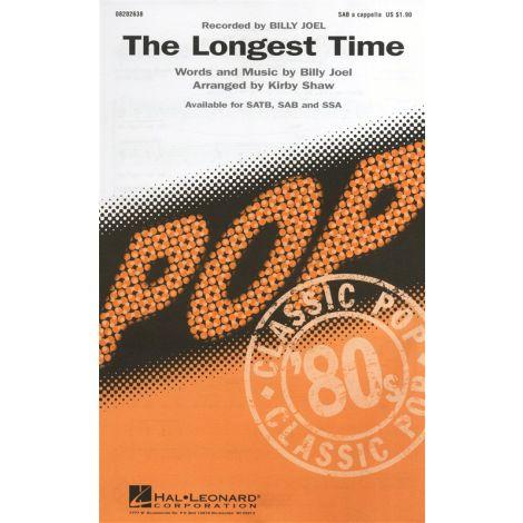 Billy Joel: The Longest Time (SAB)