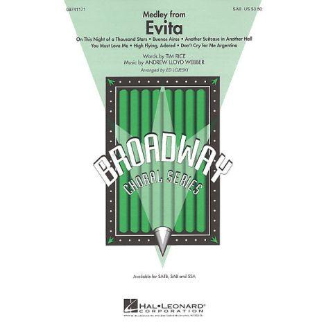 Andrew Lloyd Webber: Evita - Medley (SAB)