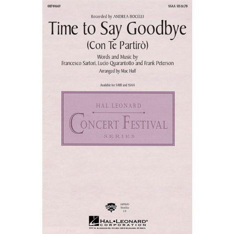 Andrea Bocelli/Sarah Brightman: Time to Say Goodbye (Con Te Partiro) - SSAA