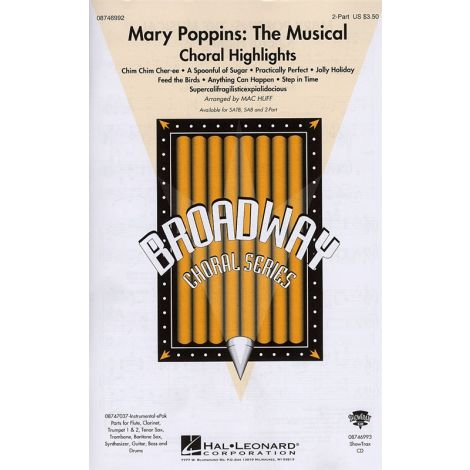 Mary Poppins: The Musical - Choral Highlights (2-Part)