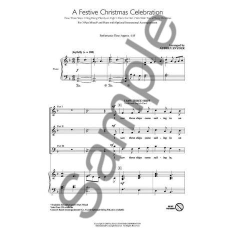 A Festive Christmas Celebration (3-Part)