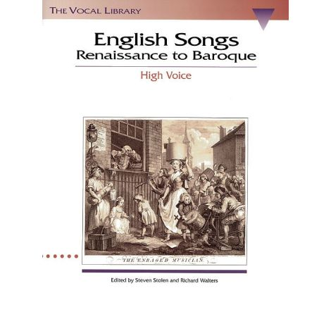 English Songs Renaissance To Baroque - High Voice
