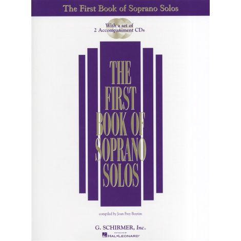 The First Book of Soprano Solos (Book/2CDs)