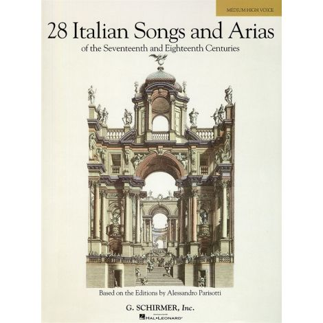 28 Italian Songs And Arias Of The 17th And 18th Centuries - Medium High Voice (Book Only)