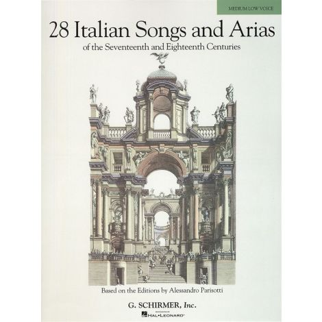 28 Italian Songs And Arias Of The 17th And 18th Centuries - Medium Low Voice (Book Only)