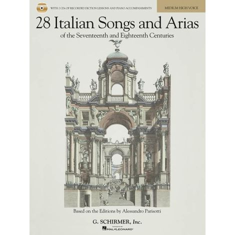28 Italian Songs And Arias Of The 17th And 18th Centuries - Medium High Voice (Book/Online Audio)