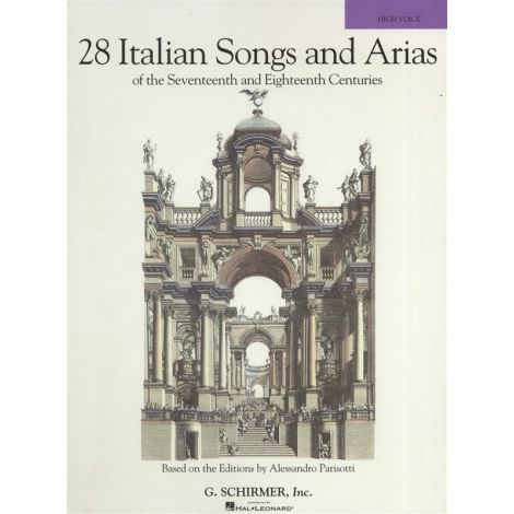 28 Italian Songs And Arias Of The 17th And 18th Centuries - High Voice (Book Only)