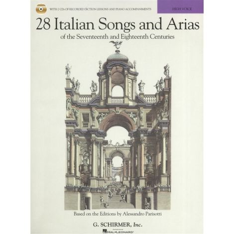 28 Italian Songs And Arias Of The 17th And 18th Centuries - High Voice (Book/Online Audio)