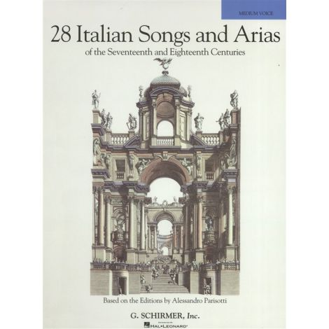 28 Italian Songs And Arias Of The 17th And 18th Centuries - Medium Voice (Book Only)