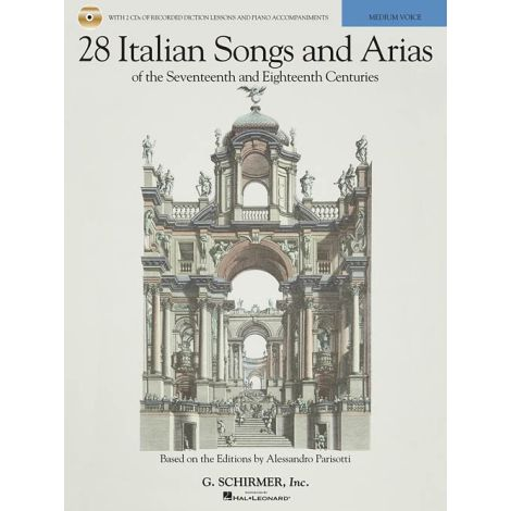28 Italian Songs And Arias Of The 17th And 18th Centuries - Medium Voice (Book/Online Audio)