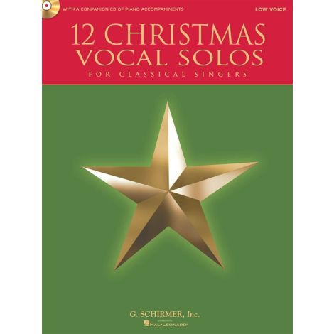 12 Christmas Vocal Solos - Low Voice