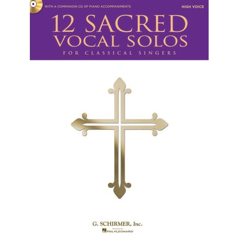 12 Sacred Vocal Solos (High Voice)
