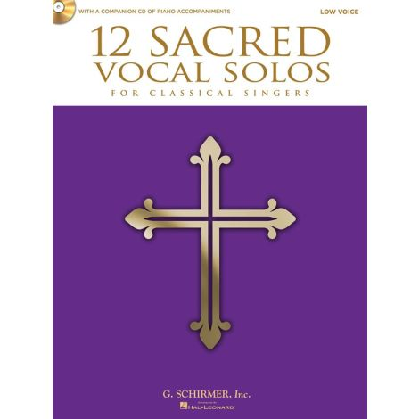 12 Sacred Vocal Solos (Low Voice)