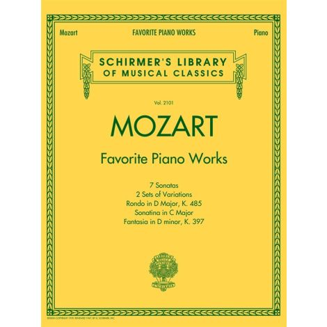 Mozart: Favorite Piano Works
