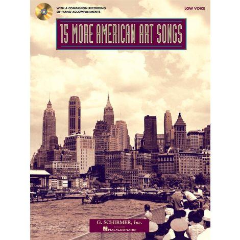 15 More American Art Songs (Low Voice)