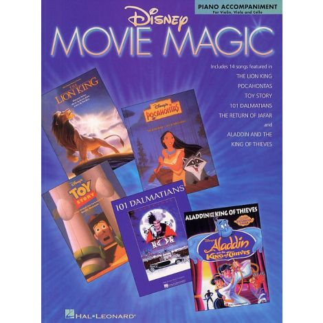 Disney Movie Magic Piano Accompaniment For Violin, Viola And Cello