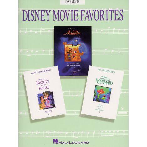 Disney Movie Favorites Instrumental Solo Easy Violin