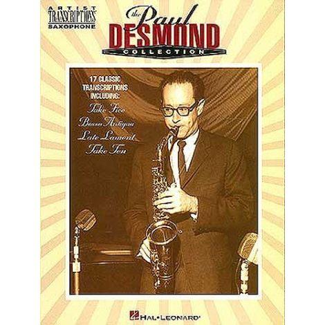 The Paul Desmond Collection Artist Transcriptions