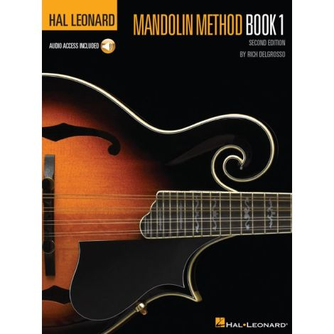 Rich DelGrosso: Hal Leonard Mandolin Method (Book/Online Audio)