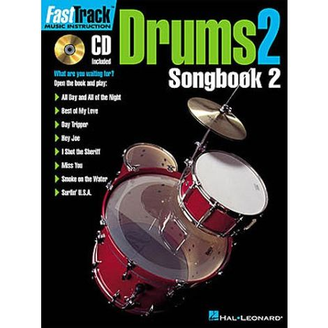 Fast Track: Drums 2 - Songbook Two
