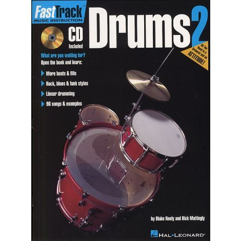 Fast Track: Drums - Book Two