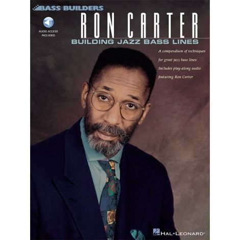Ron Carter: Building Jazz Bass Lines (Book/Online Audio)