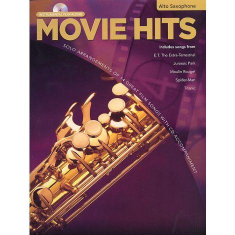 Movie Hits Instrumental Playalong: Alto Saxophone