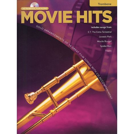 Movie Hits Instrumental Playalong: Trombone