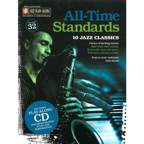 Jazz Play-Along Volume 32: All Time Standards