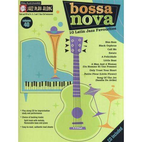 Jazz Play-Along Volume 40: Bossa Nova