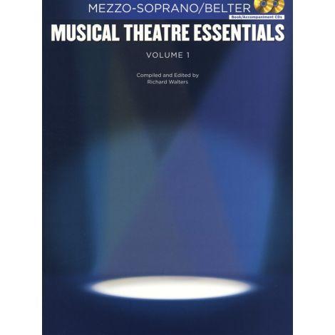 Musical Theatre Essentials: Mezzo-Soprano - Volume 1 (Book/2CDs)