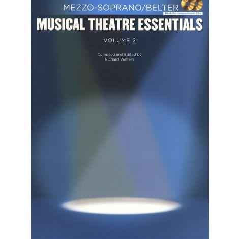 Musical Theatre Essentials: Mezzo-Soprano - Volume 2 (Book/2CDs)