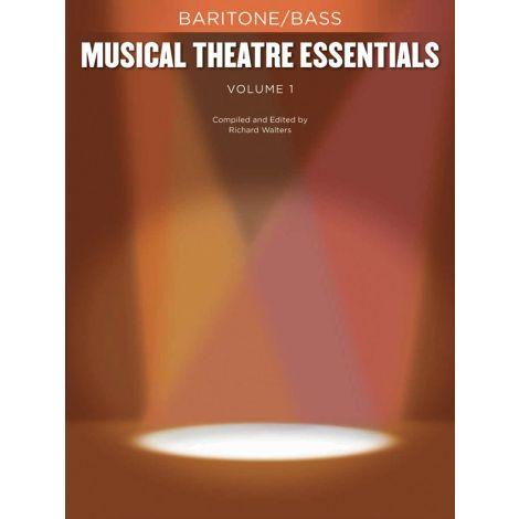 Musical Theatre Essentials: Baritone/Bass - Volume 1 (Book Only)
