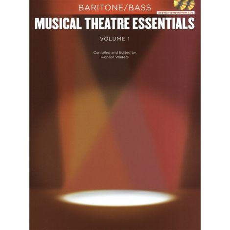 Musical Theatre Essentials: Baritone/Bass - Volume 1 (Book/2CDs)