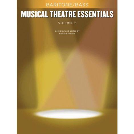 Musical Theatre Essentials: Baritone/Bass - Volume 2 (Book Only)