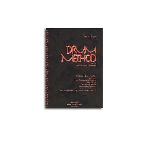 Andreas Schwarz: Drum Method Vol.2 For Advanced Drummers (English)
