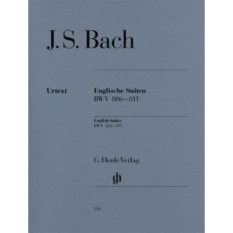 Bach: Complete English Suites BWV 806-811 (Henle Urtext)