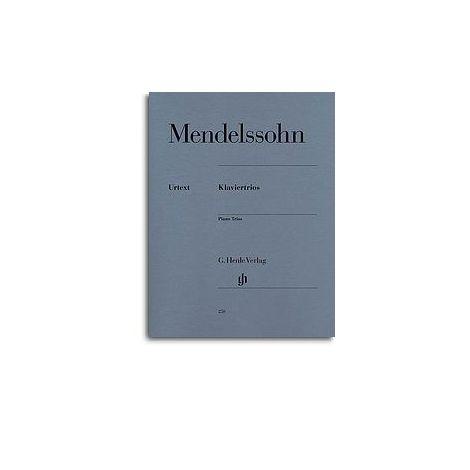 Felix Mendelssohn: Piano Trios (Henle Urtext)