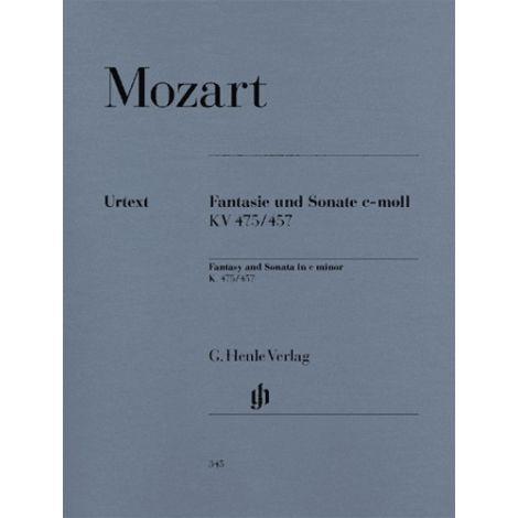Mozart: Fantasy and Sonata in C minor K. 475/457 (Henle Urtext)