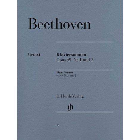 Beethoven: 2 Easy Piano Sonatas Op.49 Nos 19 & 20 (Henle Urtext)
