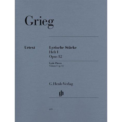 Grieg: Lyric Pieces Volume 1, Op.12 (Henle Urtext)